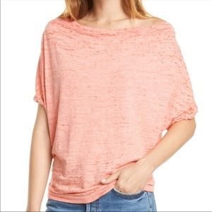 🌸 NWT Free People Astrid Convertible Neck Top